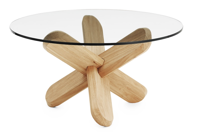 normann copenhagen bord Normann Copenhagen, Ding bord glass/eik   Designstjerner.no normann copenhagen bord