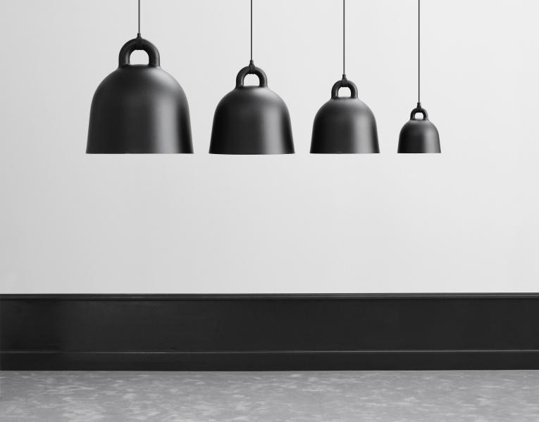 Gray Bell lampe x small | normann Copenhagen | Lamper